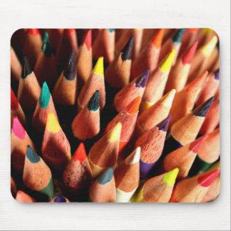 Lápis coloridos mousepad