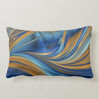 Laranja azul travesseiros
