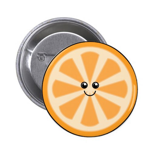 Laranja bonito botons