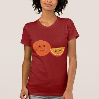 Laranja bonito camiseta