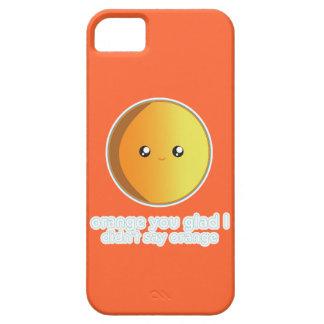 Laranja bonito capas para iPhone 5