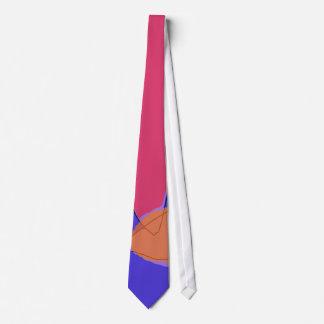 Laranja bonito minúscula gravata