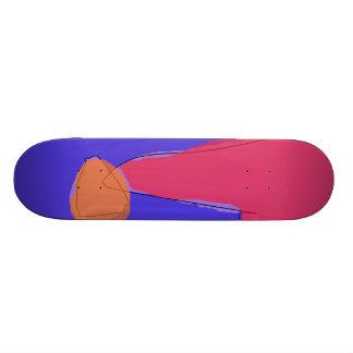 Laranja bonito minúscula shape de skate 20cm
