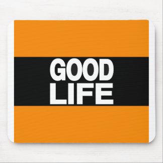 Laranja da boa vida por muito tempo mousepads