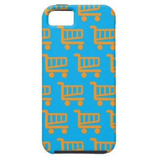 laranja e azul do cliente capa tough para iPhone 5