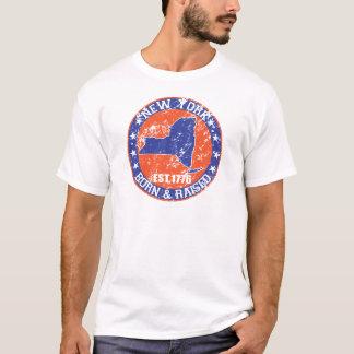 laranja e azul nascidos e aumentados de New York Camiseta