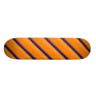 Laranja e azul shape de skate 18,1cm