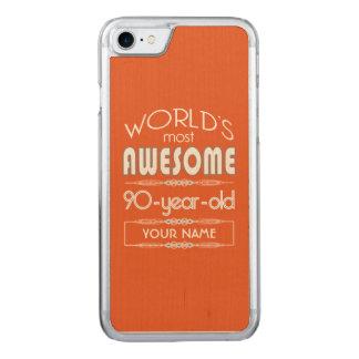 laranja fabulosa da chama dos mundos do capa iPhone 7 carved