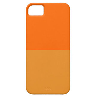 Laranja final capa barely there para iPhone 5