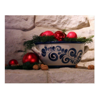 Lareira do Natal Cartão Postal