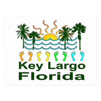 Largo chave Florida Cartao Postal