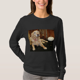 Larry - golden retriever - Photo-2 Tshirt