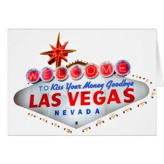Las Vegas fabuloso Cartão Comemorativo