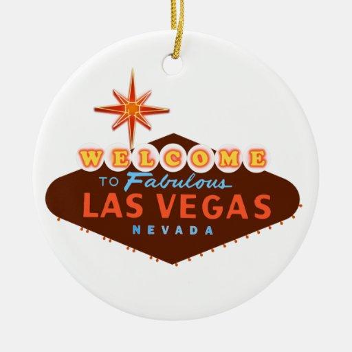 Las Vegas fabuloso Enfeite De Natal