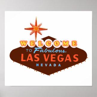 Las Vegas fabuloso Poster