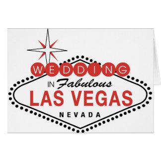 Las Vegas fabuloso que Wedding o modelo customizáv Cartoes