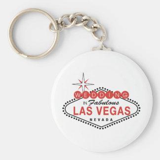 Las Vegas fabuloso que Wedding o modelo customizáv Chaveiro