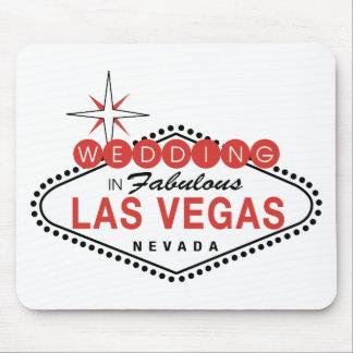 Las Vegas fabuloso que Wedding o modelo customizáv Mousepad
