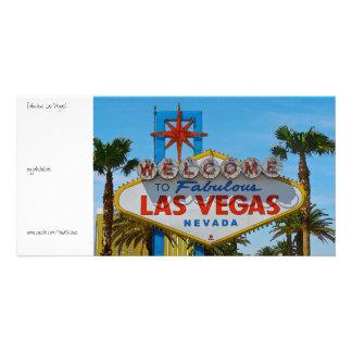 Las Vegas fabuloso - sem fios Cartão Com Foto