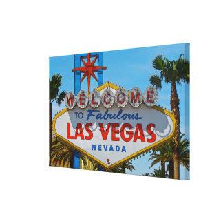 Las Vegas fabuloso - sem fios Impressão Em Tela
