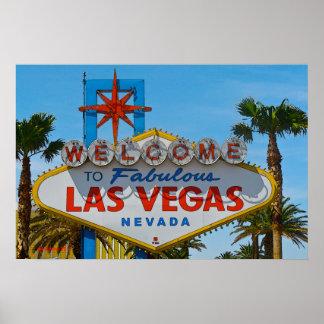 Las Vegas fabuloso - sem fios Poster