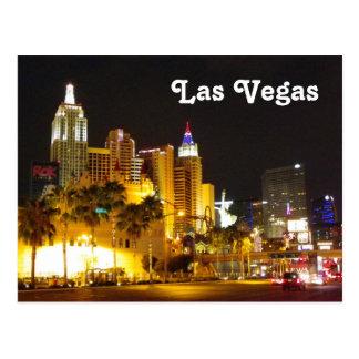 Las Vegas no cartão da noite! Cartão Postal