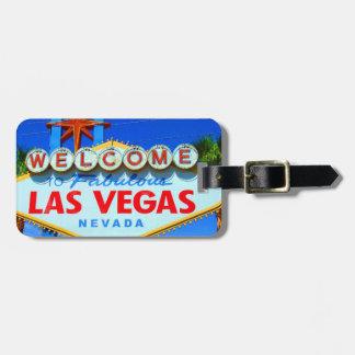 Las Vegas personalizou o Tag da bagagem Tags De Mala
