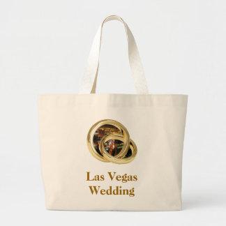 """Las Vegas que Wedding a """"noiva & o noivo soa"""" o sa Bolsa Para Compras"""