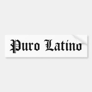 Latino de Puro Adesivo Para Carro