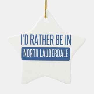 Lauderdale norte ornamento de cerâmica
