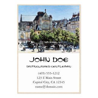 l'Auxerrois Claude Monet de Germano do santo Cartão De Visita Grande