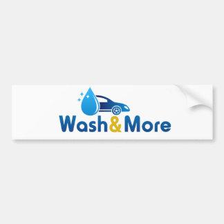 Lavagem & mais adesivo para carro