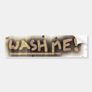 Lave-me! Adesivo