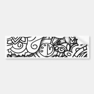 Layery Doodles a série Adesivo Para Carro