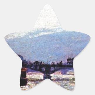 Le Pont des Arts por Armand Guillaumin Adesito Estrela