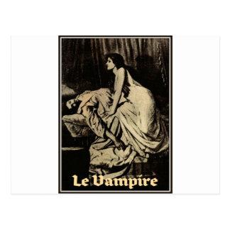 Le Vampiro por Burne-Jones 1897 Cartão Postal