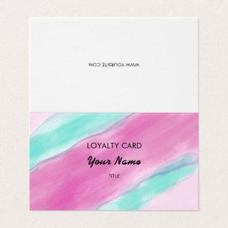 Lealdade cor-de-rosa do profissional da aguarela
