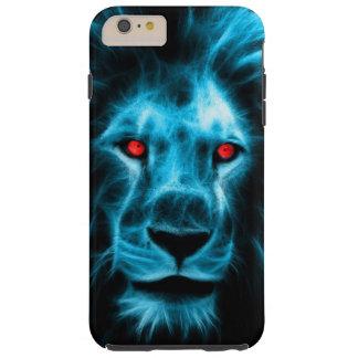 Leão azul capas iPhone 6 plus tough