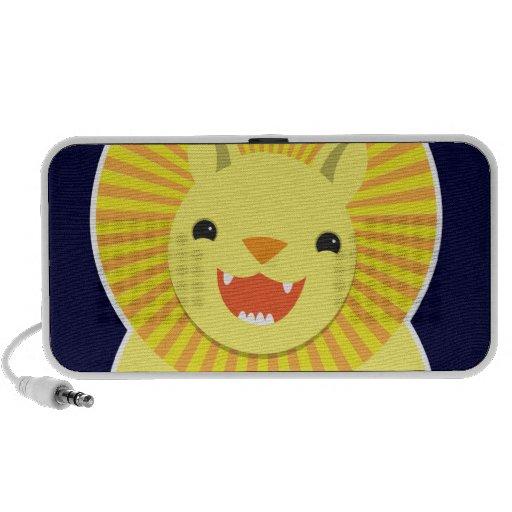 Leão bonito! auto-falante caixinha de som