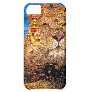 leão - colagem do leão - mosaico do leão - leão capa para iPhone 5C