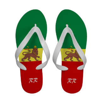 Leão da reggae de Rasta de chinelos de Judah