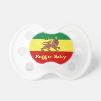 Leão da reggae de Rasta do bebê da reggae de Judah Chupeta