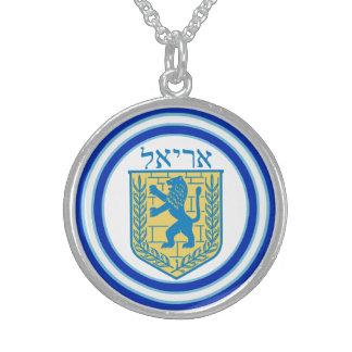 Leão do emblema Ariel de Judah Colar De Prata Esterlina