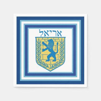 Leão do emblema Ariel de Judah Guardanapo De Papel