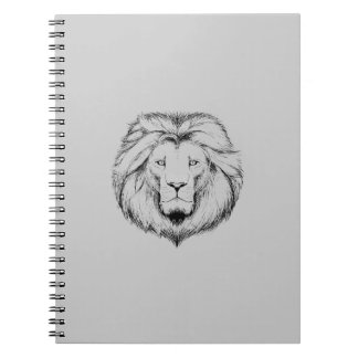 Leão Escreves Spiral bloco Caderno Espiral