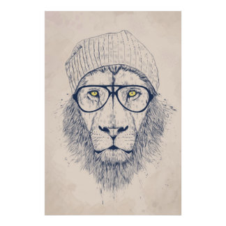 Leão legal poster