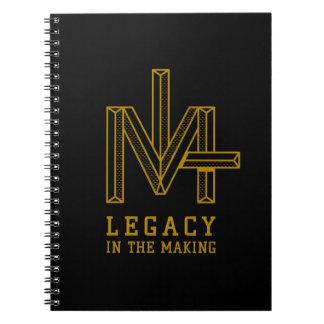 Legado no caderno do fazer