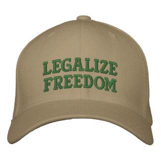 Legalize a liberdade com margem Paul em 2016! Boné Bordado