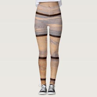 Legging A madeira gosta de calças justas