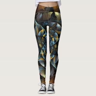 Legging Arte abstracta do Pinwheel